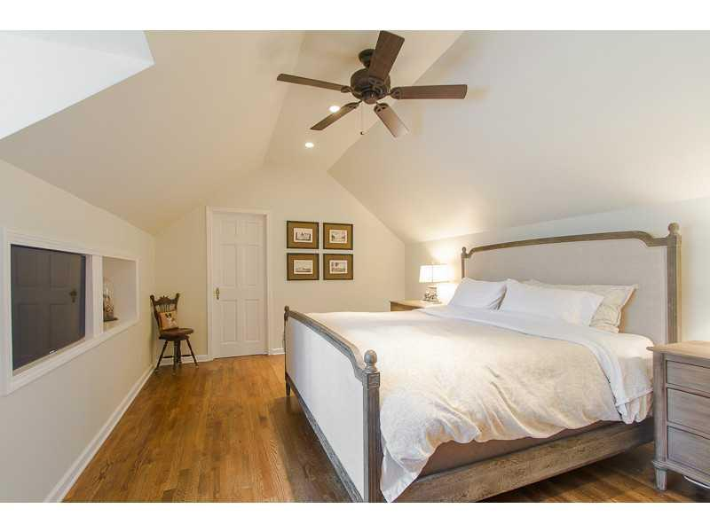 Master Bedroom. Master bedroom is upstairs and private. Very spacious!