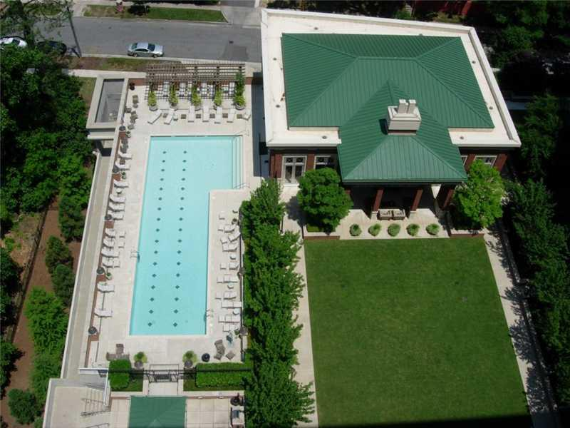 Aerial View. Amenities level-private park in the city!
