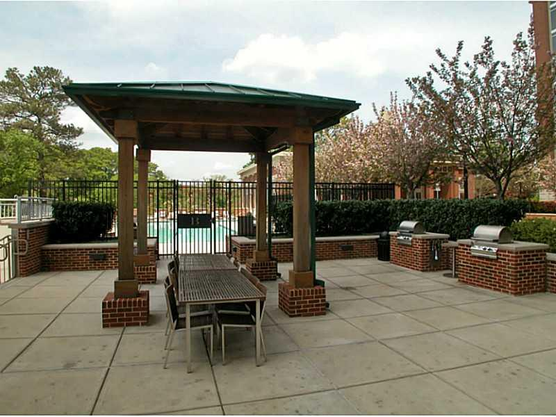 Amenities. Two profession gas grills, gazebo and out door dining areas are a favorite of residents.