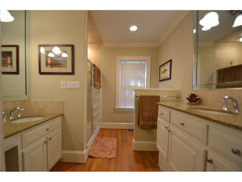 Master Bath/Spa. Master Bath has double, granite vanities and a double headed shower.