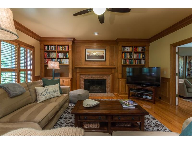 FAMILY ROOM: Adjacent to the living room, the family room is a great place to entertain or relax after a long week.