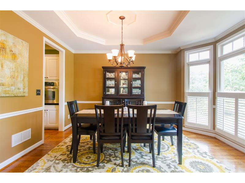 Separate dining room perfect off the kitchen perfect for hosting your next dinner party