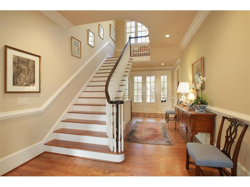 Entry Foyer. Leading to outdoor living area and private backyard.