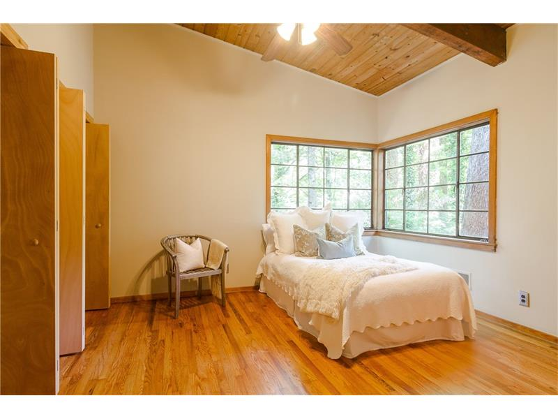 You will love this vaulted master suite with tons of space and natural light. PLUS plenty of closet space.