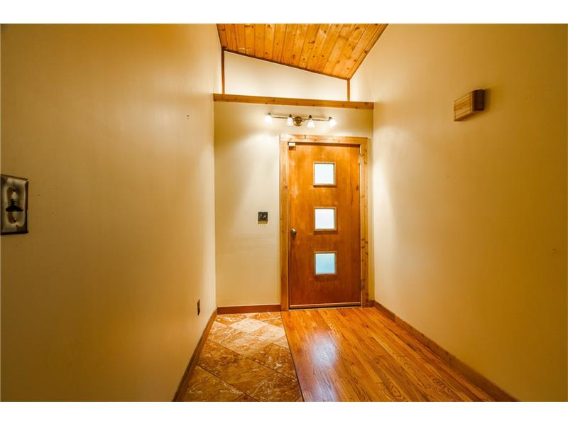 Spacious front entry foyer.