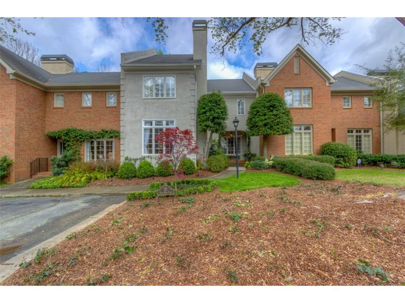 Welcome home! Located on a quiet cul-de-sac street with parking in front. Easy walk to shopping, Marta,fine dniing. Owner's added coins on the corners of the home and lush landscaping. The building was painted by the HOA in 2016.