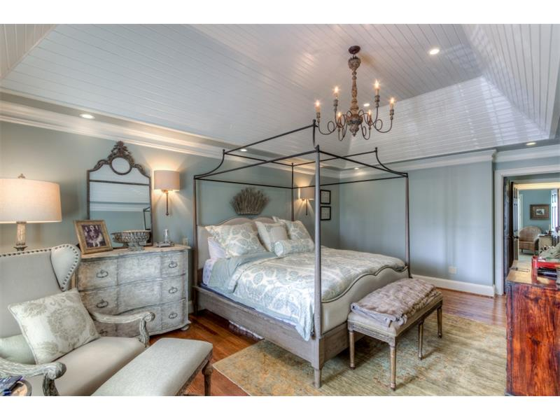 Another view of the spacious and inviting master bedroom