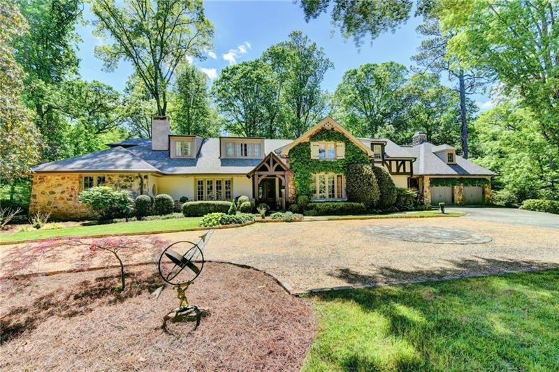Yong Pak total renovation on 1.6 acre estate lot at Chastain Park