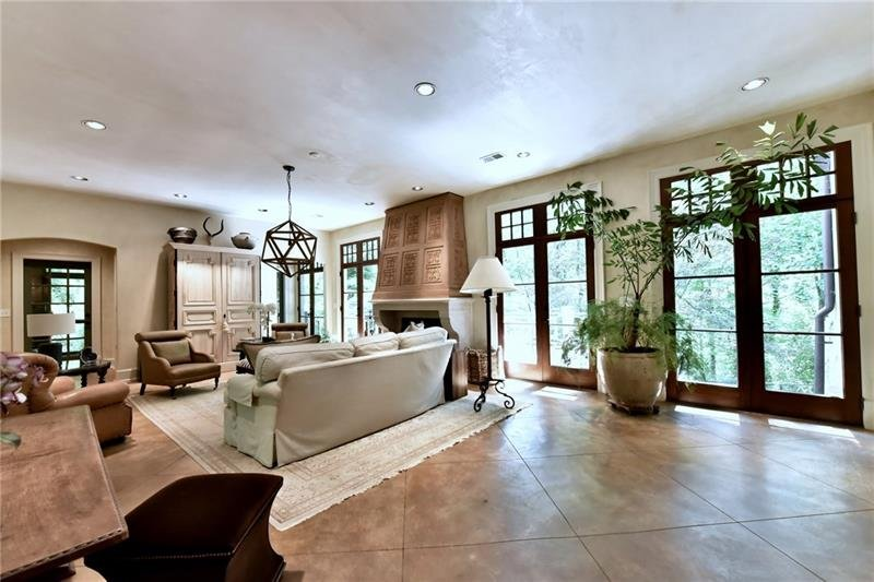 Natural light fills this home along with numerous craftsman details such as Venetian Plaster finishes and heated floors.