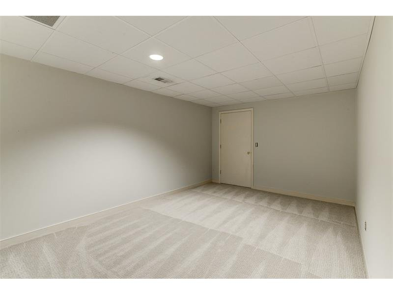 Additional room in the basement