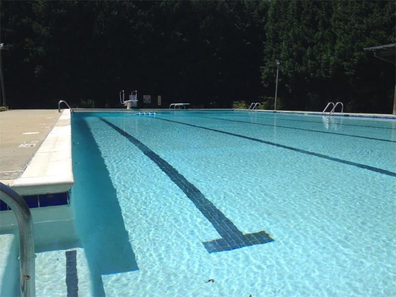 Stay cool at the Mark Trail pool