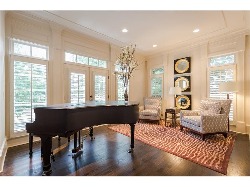 Formal Living/Piano Room/Study