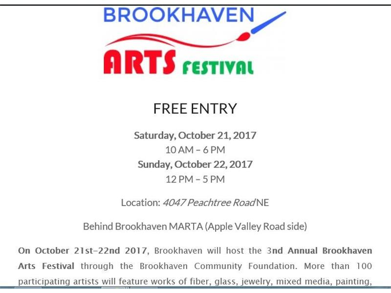 Brookhaven lifestyle includes several annual festivals.