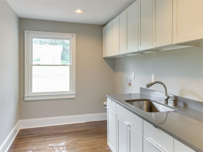 HUGE Laundry Room with Sink and Tons of Cabinets