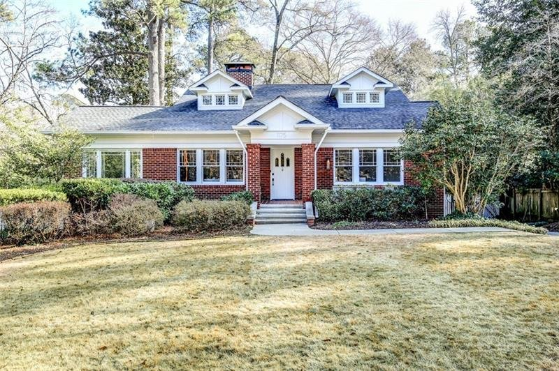 Rarely available fully renovated historic home on highly desirable Oxford Road in Druid HIlls