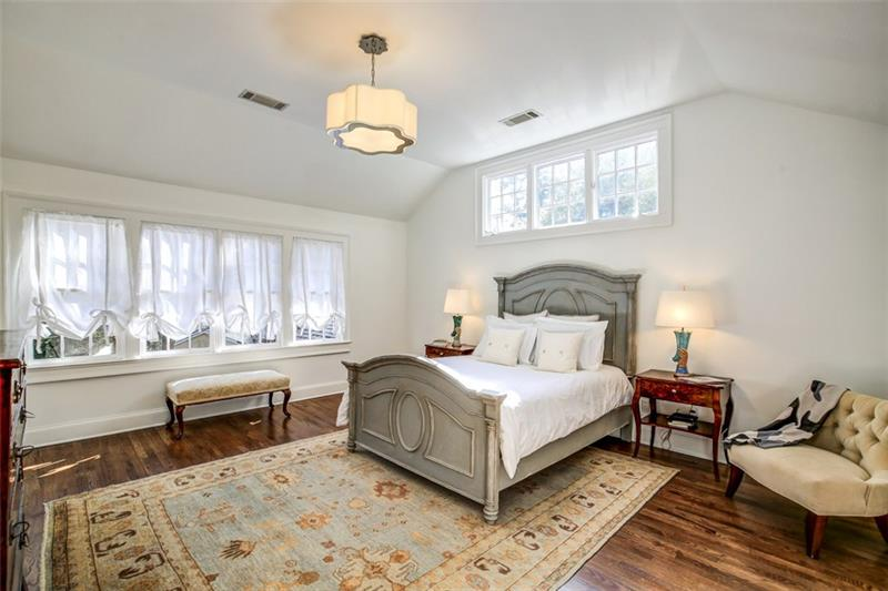 Upstairs Master Bedroom Suite with two additional bedrooms on same floor