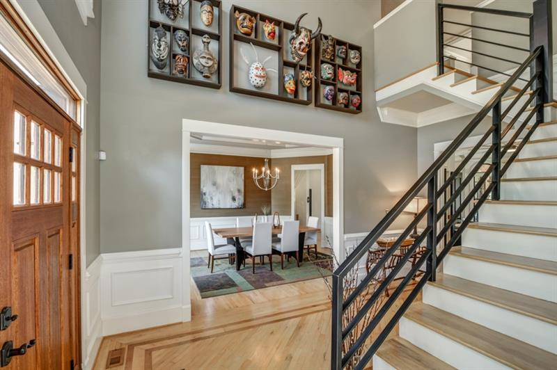 Fantastic Foyer that is sure to make a grand entrance.