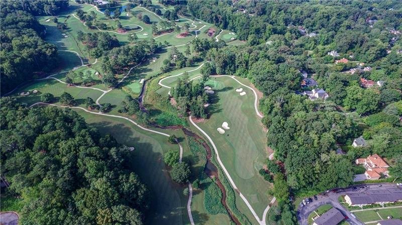 DRUID HILLS IS ONE OF THE OLDEST GOLF COURSES IN GA. CLIFTON RIDGE BOTTOM LEFT CORNER.