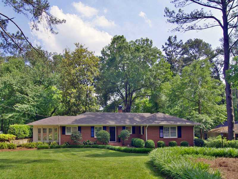 1520 Moores Mill Road - Atlanta - Buckhead